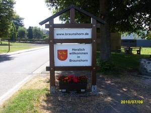 Ortseingang Braunshorn